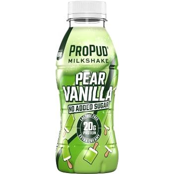 Milkshake Päron vanilj 330ml Njie