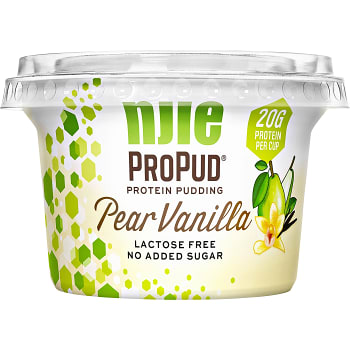 Proteinpuddning ProPud Pear vanilla 200g Nkie