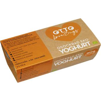 Yoghurt Mango & banan 175g 2-p Otto LoveBugs
