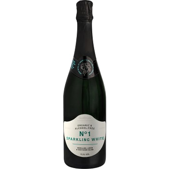 Måltidsdryck Vitt vin No1 Alkoholfri Ekologisk 75cl GodDryck