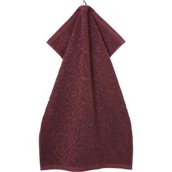 Handduk Rosie Plommon 50x70cm Hemtex24h