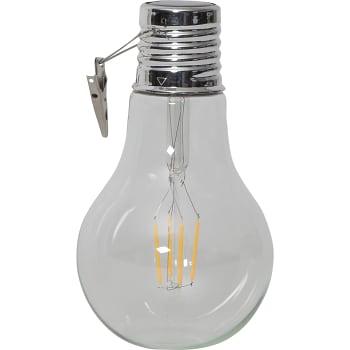Solcellslampa Bulb LED 18cm Star Trading