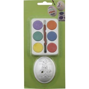 Set Måla ägg 6 färger