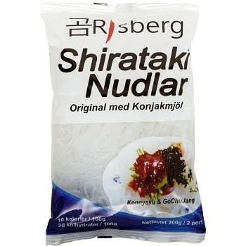 Shirataki Nudlar 200g Risberg Import