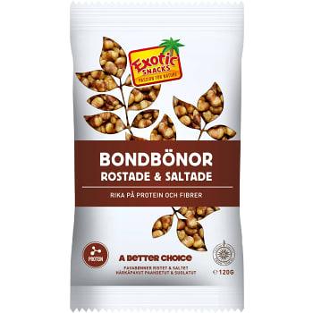 Bondbönor Rostade & saltade 120g Exotic Snacks