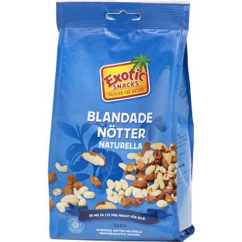 Blandade nötter Naturella 350g Exotic Snacks