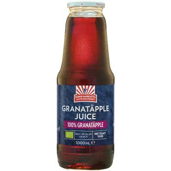 Granatäppeljuice Ekologisk 1l Kung Markatta