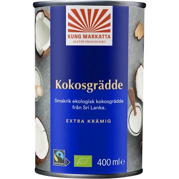 Kokosgrädde 400ml KRAV Kung Markatta
