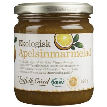 Apelsinmarmelad 320g KRAV Torfolk Gård