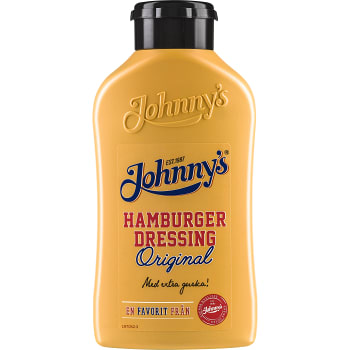 Hamburgerdressing Original 435g Johnnys