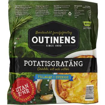Potatisgratäng Färdigkryddad 800g Outinens Potatis
