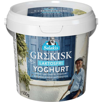 Yoghurt Grekisk Laktosfri 500g Lindahls