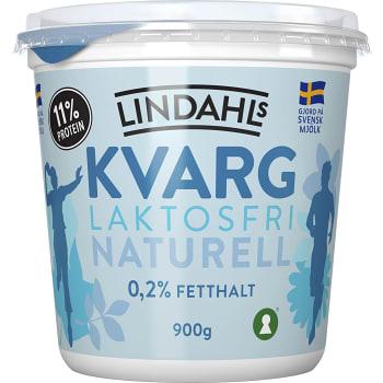 Kvarg Naturell Laktosfri 900g Lindahls