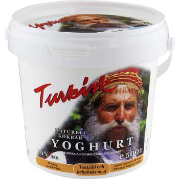Yoghurt Turkisk Naturell 10% 500g Lindahls