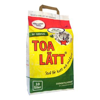 Strö för katt och smådjur 10l Toa Lätt