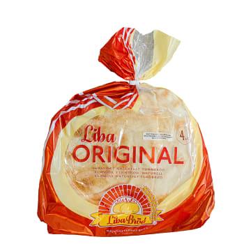 Tunnbröd 348g Liba Bröd