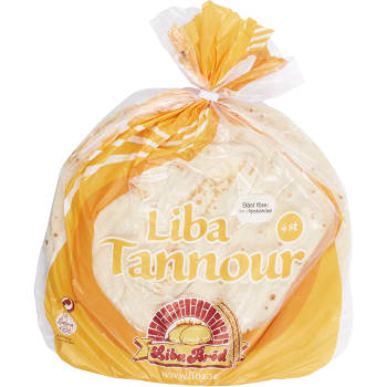 Liba Tannour 4-p 310g Liba Bröd