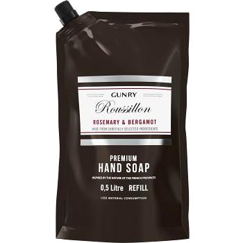 Flytande tvål Refill Rosemary & Bergamot 500ml Gunry