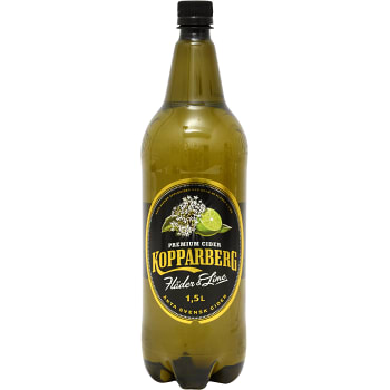 Fläder & lime Cider 1,5l Kopparbergs