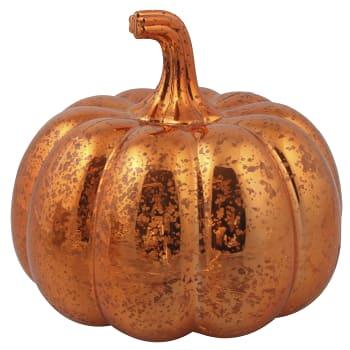 Dekoration Pumpa Orange 16cm