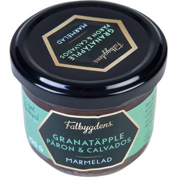 Delikatessmarmelad Päron & granatäpple med calvados 125g Falbygdens ost