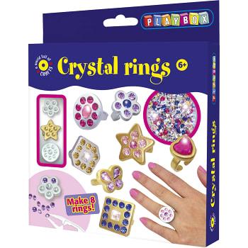 Pysselset Kristallringar Playbox