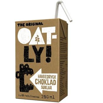 Havredryck Choklad 1,5% 250ml OATLY