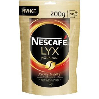 Lyx Mörkrost Snabbkaffe Refill 200g Nescafé