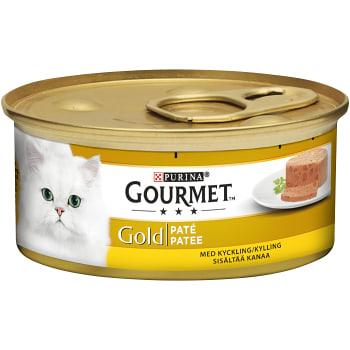 Kattmat Kyckling i paté 85g Gourmet