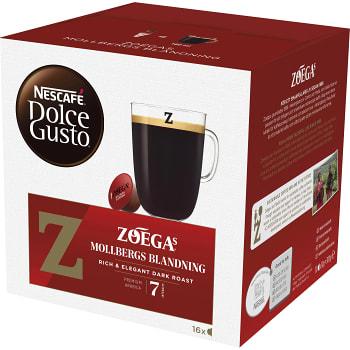 Kaffekapslar. Dolce Gusto, 16-p Zoega
