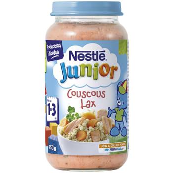 Junior couscous lax Från 1-3år 250g Nestle