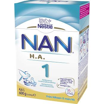 Nan 1 HA Från födseln 600g Nestle