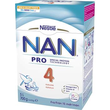 Nan 4 Junior Mjölkdryck 700g Från 15m Nestle