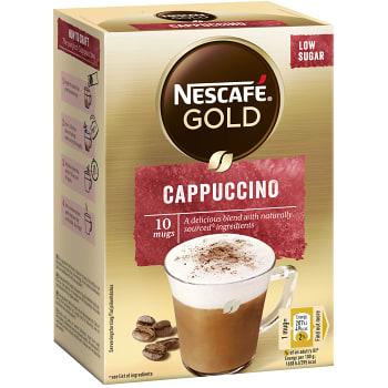 Cappuccino Snabbkaffe 10-p Nescafé