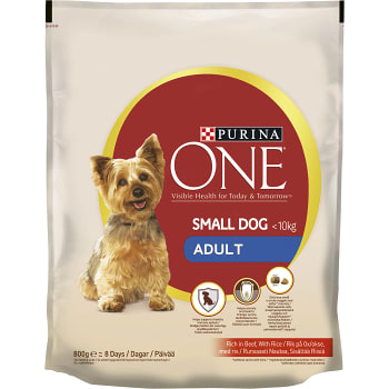 Hundmat Adult Oxe & ris 800g Purina One