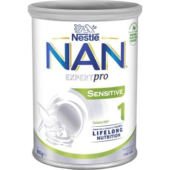 Nan 1 Sensitive Från födseln 800g Nestle