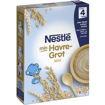 Havregröt Mild Naturell 4m 270g Nestle