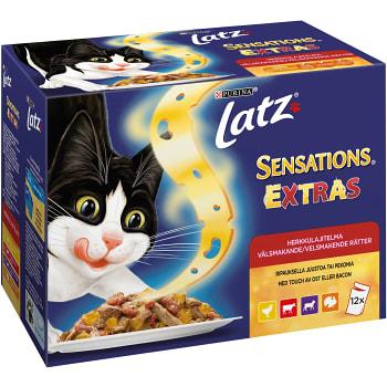 Kattmat Sensations Extras 100g 12-p Latz