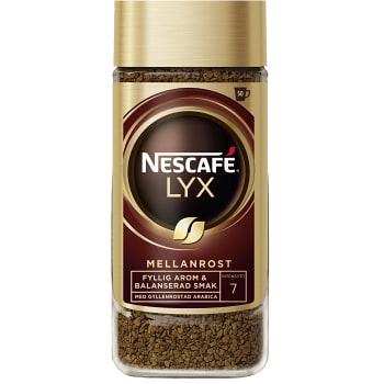 Snabbkaffe Lyx Mellanrost 100g Nescafé