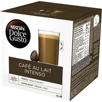Kaffekapsel Dolce Gusto Café Au Lait Intenso 16-p Nescafé
