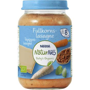 Barnmat Lasagne Fullkorn mild Ekologisk 8mån 190g Nestle