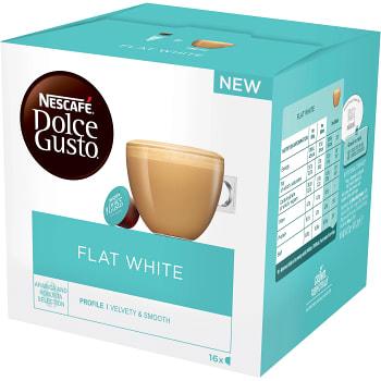 Kaffekapslar Flat white 16-p Dolce Gusto