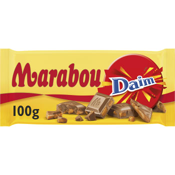 Chokladkaka Daim 100g Marabou