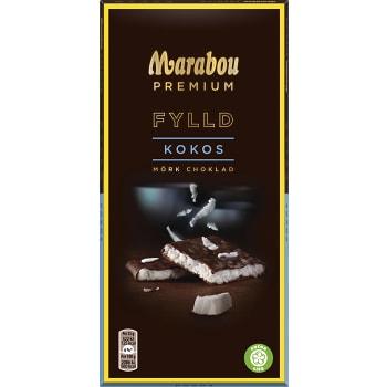Chokladkaka Premium Filled coconut 150g Marabou