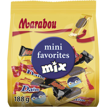 Mini mix Favorites 188g Marabou