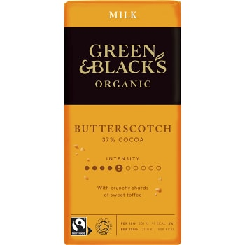 Chokladkaka Butterscotch 37% 90g Green & black´s