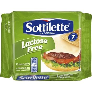 Smältost Laktosfri Glutenfri 9-p 185g Sottilette