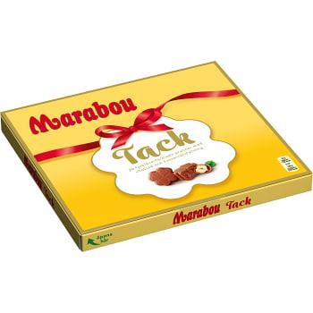 Chokladpraliner Hasselnöt Tack 110g Marabou