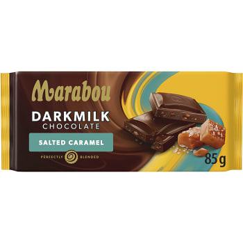 Chokladkaka Dark Milk Salted Caramel 85g Marabou