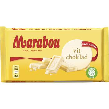 Vit chokladkaka 185g Marabou